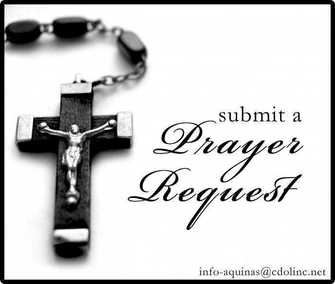Prayer Request | Aquinas & St  Mary's Catholic Schools