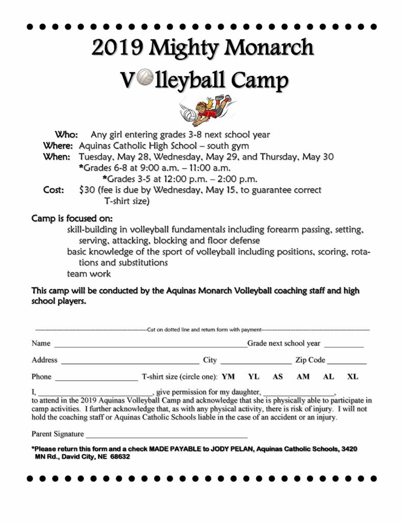Youth VB Camp