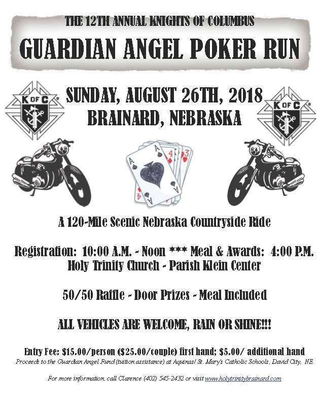 Brainard KC Guardian Angel Poker Run