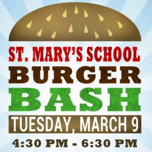 St. Mary's School Burger Bash
